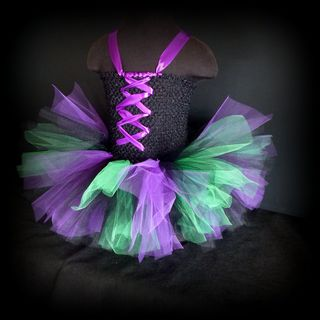 Mayhem Creations Witch Costume Tutu