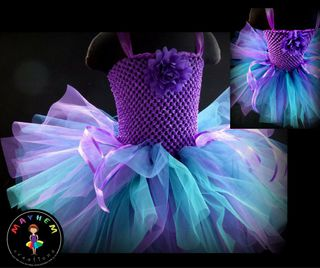 Mayhems Waterfall Fairy Tutu Dress