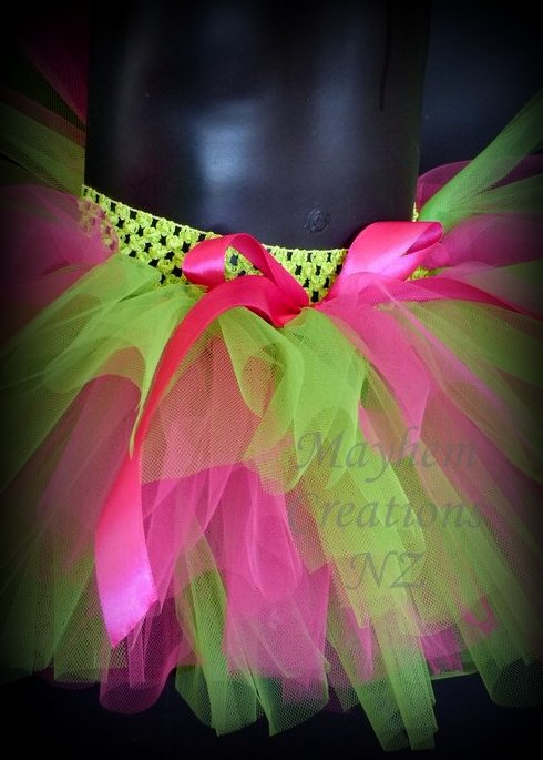 Candy apple tutu