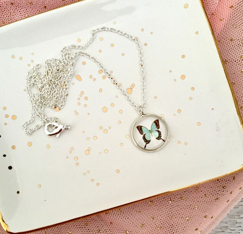 Happyful Butterfly Necklace