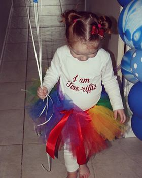 Mayhem Creations Rainbow Tutu