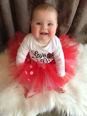 MiniM Red tutu skirt