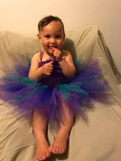 Mayhem Waterfall fairy tutu dress