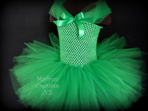 Mayhem Green tutu dress